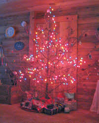large brown christmas tree lises log cabin our brown christmas tree begun a