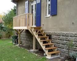 balkon mit treppe tischlerei kaufmann berlin
