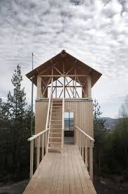 Small Timber Frame Homes by Swedish Architect Hanna Michelson Has Completed A Two Storey