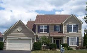 image result for good shutter color for beige house with light