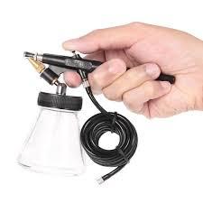 new beginner siphon feed 0 8mm spray paint airbrush mini single