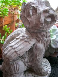 westie statue concrete west highland by westwindhomegarden