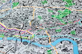 London Maps Map Of London Neighbourhoods Allotherplacesorg London