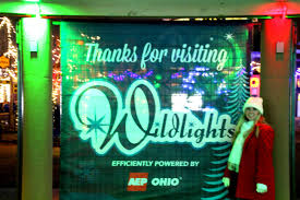 Zoo Lights Columbus Zoo by Columbus Zoo Wildlights Ohio Travels