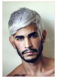Gray Hair Mens Hairstyles by Fade Haircuts For White Men Together With Best Mens Grey Hair
