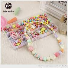 bracelet bead sets images Korean diy kawaii bracelet plastic bead kit accessories diy girl jpg