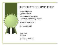 certificate of completion skillbazaar co