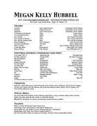 Pianist Resume Sample by Actor Special Skills Best Free Resume Collection