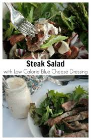 steak salad with low calorie blue cheese dressing pinterest jpg