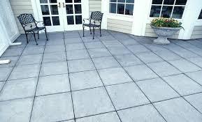 Patio Stone Ideas by Large Concrete Patio Blocks Installing Large Patio Stones Large