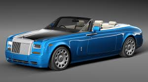 modified rolls royce rolls royce phantom cabrio by korneelov 3docean