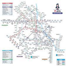 Blue Line Delhi Metro Map delhi metro page 902 skyscrapercity