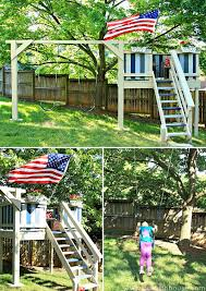 Backyard Forts For Kids 16 Creative Kids Wooden Playhouses Designs For Your Yard