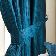 Teal Taffeta Curtains Teal Crushed Taffeta Curtain Collection Dunelm Mill Living