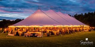 wedding tent 6 lighting options to make your wedding tent sparkle lakes