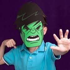 free printable hulk mask u0027s free