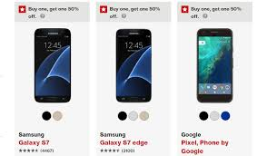 best cell phone deals black friday galaxy s7 verizon runs bogo 50 off promo for pixel pixel xl galaxy s7 s7