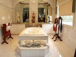 Bathroom Design With Spa Bath Using Tiles Bathroom Photo - Classic bathroom design