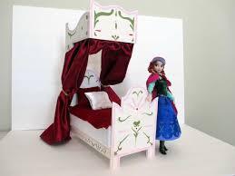 Frozen Elsa Bedroom How To Make An Anna Doll Bed Tutorial Disney Frozen Youtube