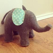 weighted door stop elephant doorstop diy u0027d baby bug pinterest craft diy
