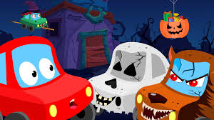 little red car trick or treat halloween videos for children