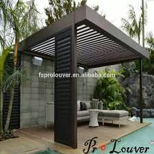 Louvered Roof Pergola by Pergola Shutters Pergola Shutters Suppliers And Manufacturers At