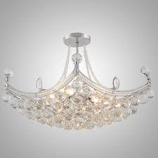 Wohnzimmerlampe Kristall Oofay Light Einfache Und Elegante Kristall Kronleuchter