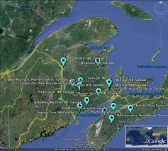 Moncton Canada Map by The Latest Worldwide Meteor Meteorite News New Brunswick Nova