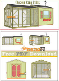 Small Backyard Chicken Coop Plans Free by Best 25 Large Chicken Coop Plans Ideas On Pinterest Chicken
