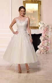 tea length wedding dresses uk tea length tulle wedding dress stella york wedding dresses