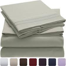 bed sheet quality bed sheet set king mellanni fine linens