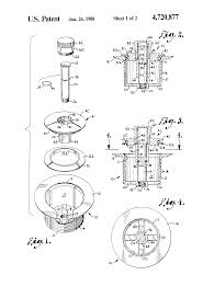 Bathtub Drain Stopper Stuck In Open Position by Patent Us4720877 Drain Closure Google Patents