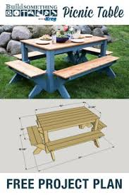 Free Large Octagon Picnic Table Plans Easy Woodworking Solutions by Diy Building Plans For A Picnic Table Backyard Ideas Pinterest