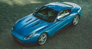 Ferrari F12 Blue - ferrari f12 berlinetta lusso by touring