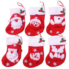 christmas gift bag 6 pcs mini christmas socks candy bag christmas gift bag