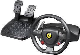 458 italia thrustmaster amazon com thrustmaster 458 racing wheel for xbox 360