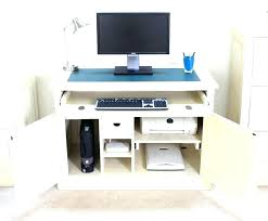 hidden office desk office desk hidden compartment hidden office desk hideaway computer