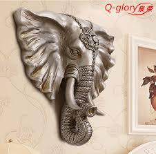 Elephant Home Decor Aliexpress Com Buy Q Glory Lucky Elephant Home Office Sliver