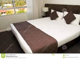 large king size luxury hotel bed stock photo image 25987630