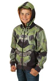 Halo Halloween Costumes Child Halo Master Chief Costume Hoodie