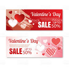 s day shopping valentines day sale offer banner templateshopping market poster