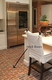 brick kitchen ideas best 25 brick floor kitchen ideas on wood cabinets