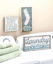 Laundry Room Decor Signs Laundry Room Decor Ebay