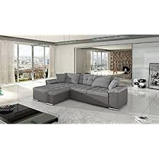 amazon com giulia european sectional sleeper pull out sofa bed