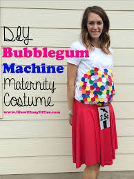 pregnancy costume diy bubblegum machine maternity costume with my littles