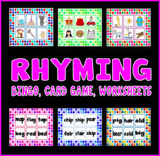 rhyming words resource pack letters and sounds phonics rhyme by