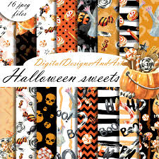 halloween pattern by digital designs an design bundles