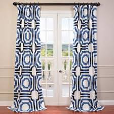 Geometric Pattern Curtains Geometric Curtains Drapes For Less Overstock