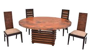 Copper Top Dining Room Tables Dining Tables Rustic Dining Tables Barnwood Dining Tables