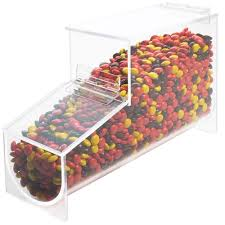 wall mounted dry food dispenser candy dispensers ice cream topping dispensers